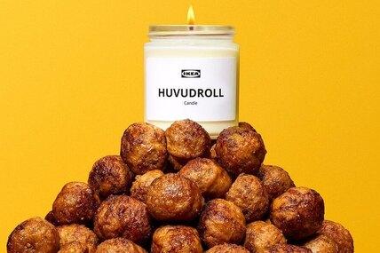 IKEA выпустили свечи сароматом фирменных фрикаделек