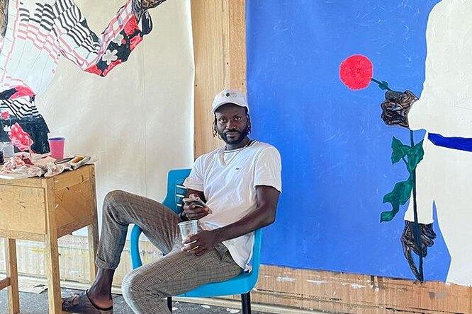 Картина ганского художника отправится вкосмос
