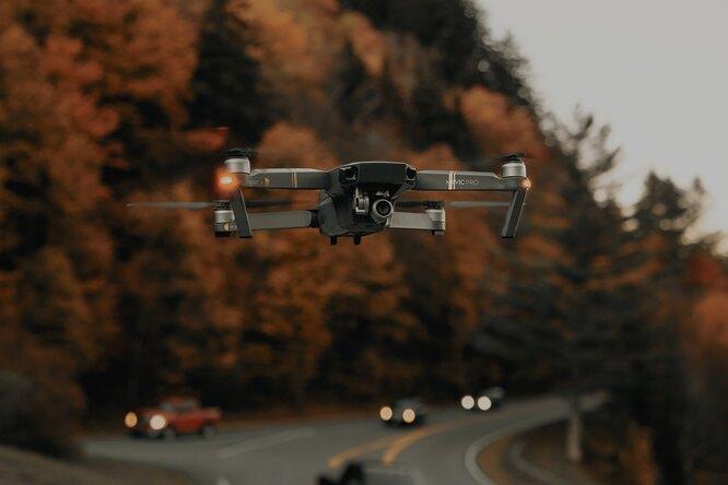 ГИБДД стала использовать дроны длявыявления нарушений надорогах