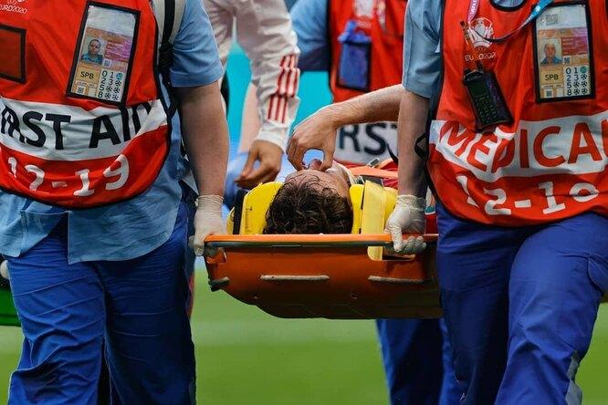 Врачи оценили степень тяжести травмы игрока российской сборной