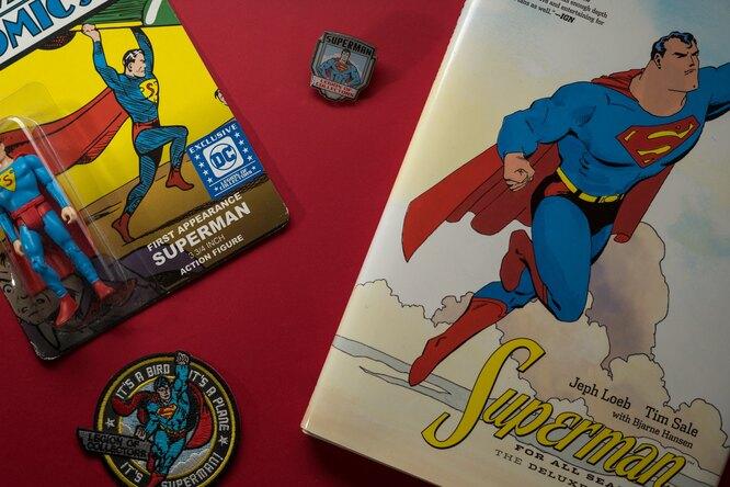 Самый первый комикс проСупермена ушел смолотка за$3,25 миллиона