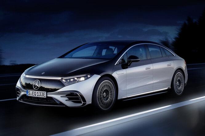Mercedes раскрыли детали своего нового электромобиля