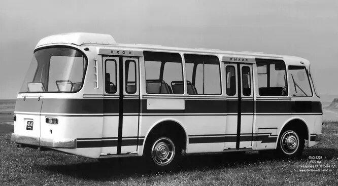 1970 год, ПАЗ-3202, первый опытный образец.