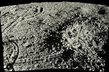 Как выглядит обратная сторона Луны: снимки сорбиты