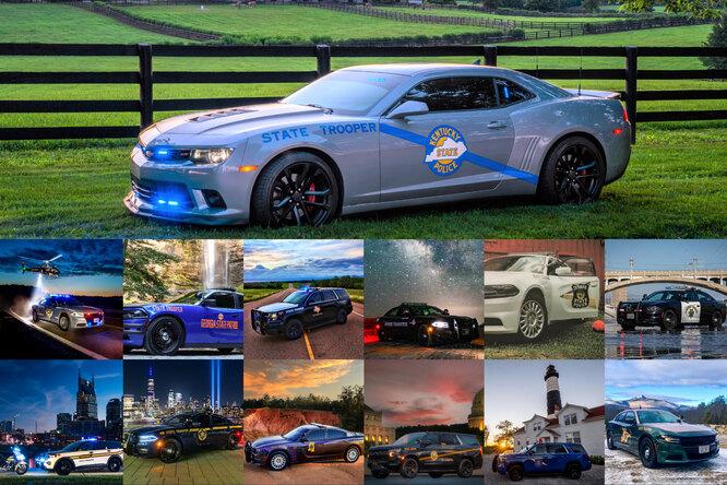 Chevrolet Camaro признали самым красивым автомобилем полиции США