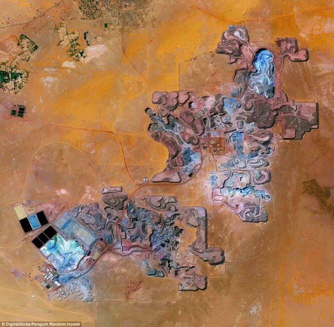 Урановый рудник в Нигере. Здесь добывают радиоактивное топливо для французских АЭС и ядерного оружия.