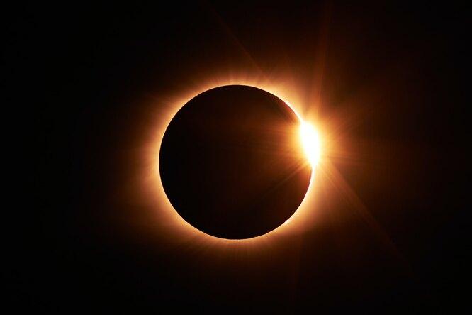 Россияне увидят кольцеобразное солнечное затмение впервые за55 лет