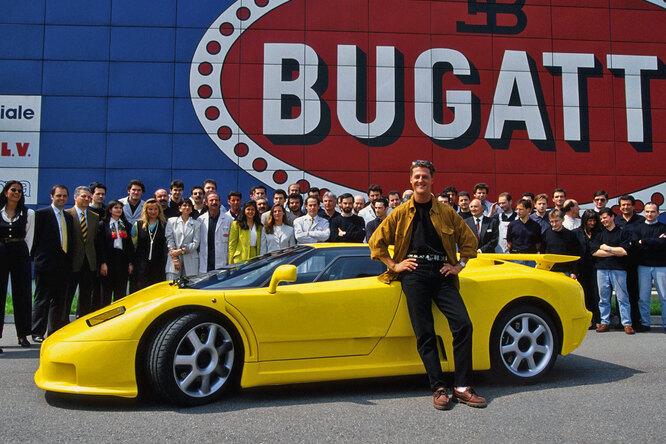 Наводнение погубило уникальный Bugatti Михаэля Шумахера