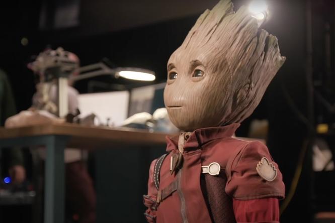 Видео: разработчики Disney создали робота Грута из«Стражей Галактики»