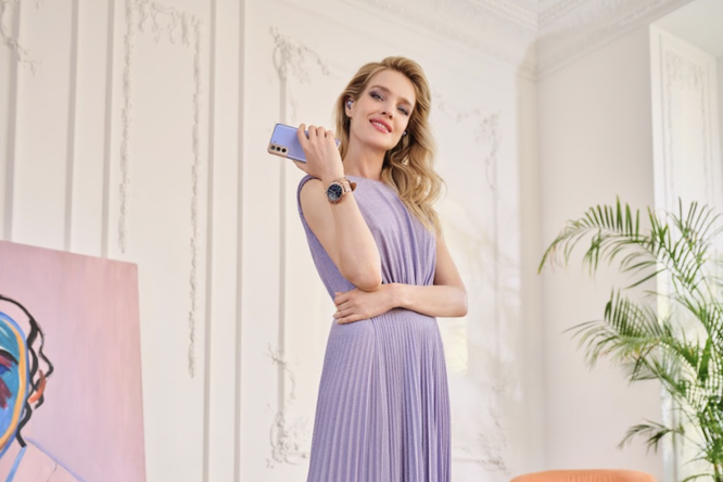 Наталья Водянова стала амбассадором бренда Samsung Россия