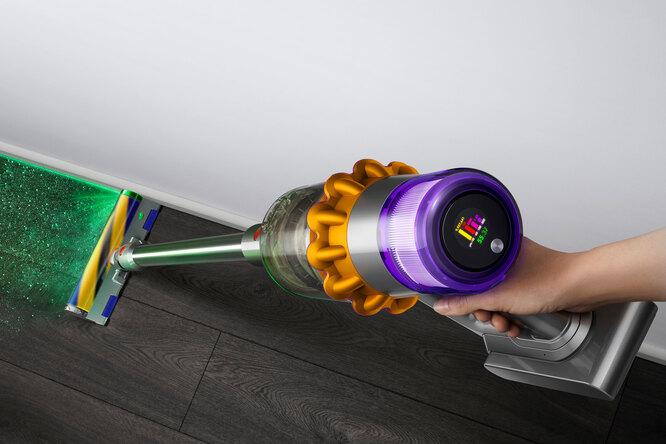 Dyson V15 Detect — первый пылесос слазером ипьезодатчиком