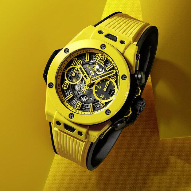 Часы Big Bang Unico Yellow Magic: солнечная сторона жизни
