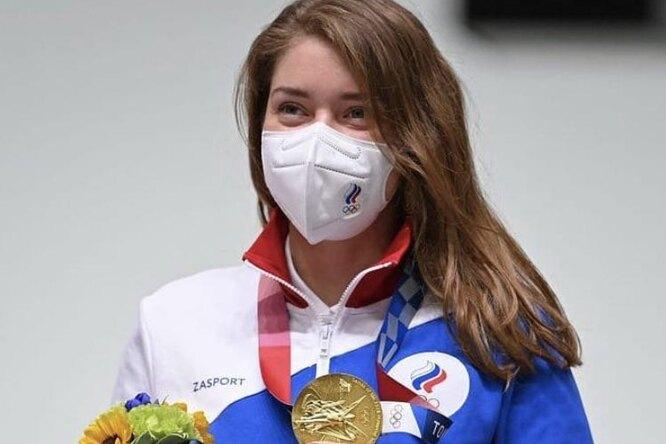 Российская спортсменка стала трехкратной олимпийской призеркой наИграх вТокио