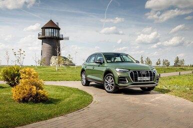 Обновленный Audi Q5: что там запневма, прокоторую все говорят?