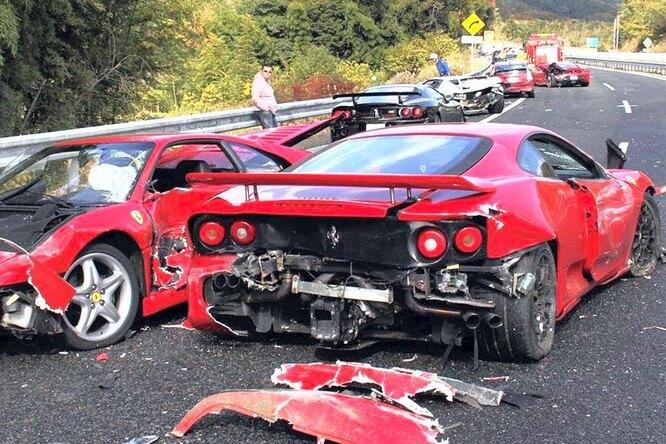 Cамые дорогие аварии вистории: как разбивают Ferrari, Rolls-Royce, Bugatti иMcLaren