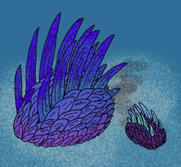 <br />Halwaxiida. К этому отряду доисторических спиральных (надотряд, включающий в себя моллюсков, червей и иных беспозвоночных) относились самые разные существа &ndash; чешуйчатые слизнеобразные виваксии и червеобразные халкиериды. До сих пор неизвестно, были ли они на самом деле связаны между собой. Так или иначе, отряд не пережил среднего кембрия и вымер около 497 миллионов лет назад.<br />&nbsp;