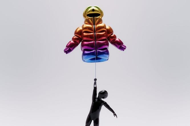 Дизайнер изИталии создал летающую куртку сгелием вместо пуха