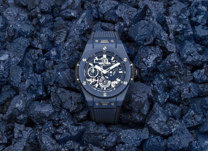 Часы Hublot Big Bang Meca-10 Ceramic Blue