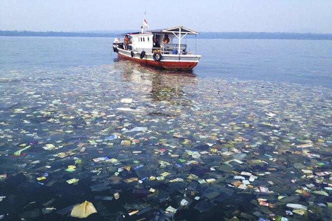 Каковы подлинные размеры Большого тихоокеанского мусорного пятна?