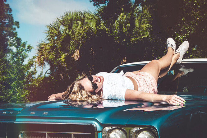 Женщина иавтомобиль: любопытные факты обих взаимоотношениях