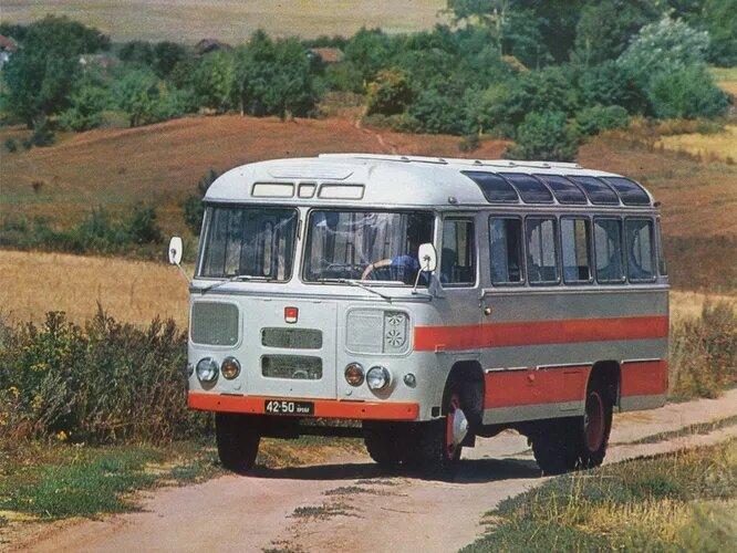 1967 год, ПАЗ-672, абсолютная классика советского автобусостроения.