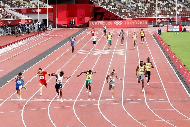 Сборная Ямайки впервые за13 лет невыиграла эстафету вмужском спринте