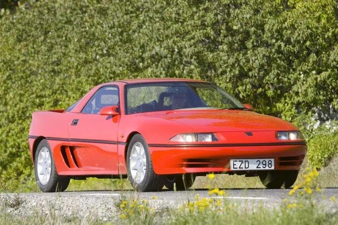 <br />UNO. В конце 1980-х под эгидой компании Saab стартовал проект UNO по производству шведских спорткаров. Была вложена серьёзная сумма денег, первая модель была разработана и изготовлена в одном экземпляре. Но до конвейера UNO 001 так и не добралась. Финансовые трудности остановили проект, так и не дав ему толком запуститься.<br />&nbsp;