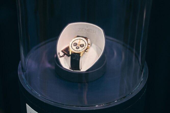 Находка дляколлекционеров: Золотые винтажные часы Zenith 1971 года, которые никогда неносили