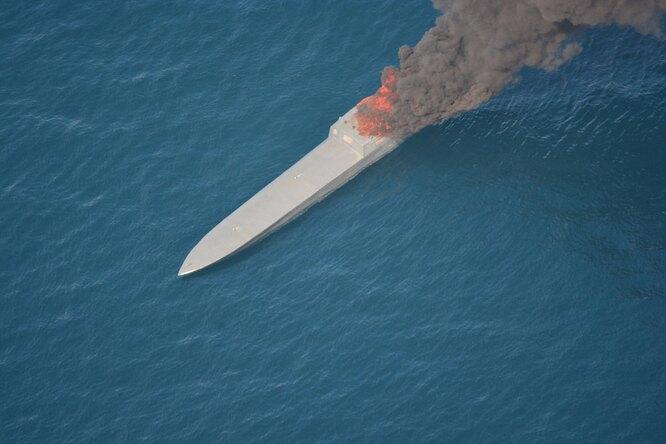 Как армия США перехватило судно-невидимку сгрузом кокаина наборту
