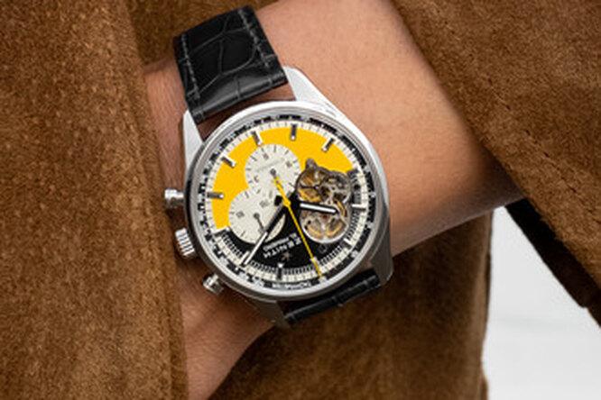 Zenith представил особые часы вчесть 55-летнего юбилея сигар Cohiba