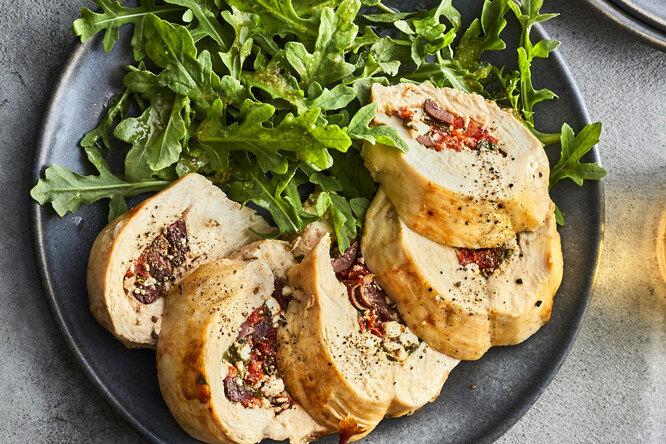 Как приготовить фаршированную курицу за15 минут