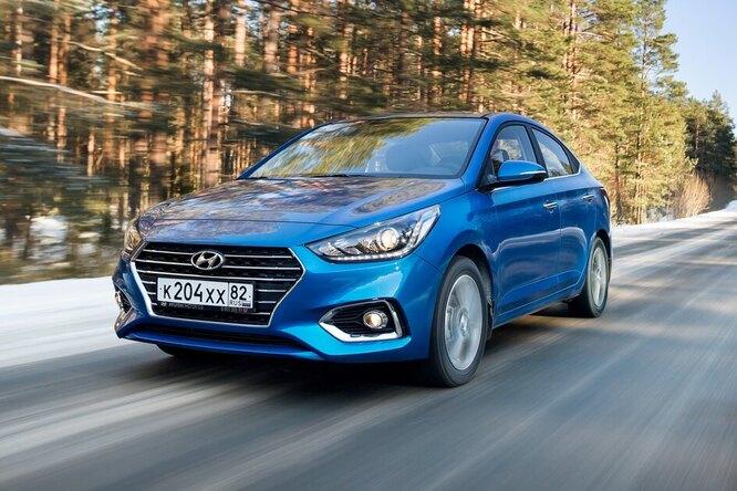 Как обычный Hyundai Solaris «разогнался» до313 км/ч