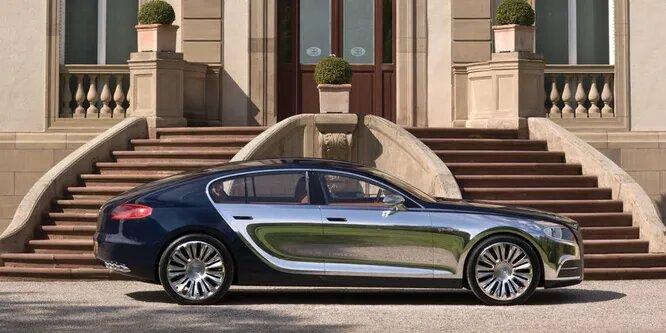 <br />Bugatti Galibier был выпущен в 2009 году французской компанией Bugatti. Этот седан вполне мог бы стать достойным преемником Veyron, он даже выглядит похоже и на нём был установлен тот же движок W16. Но в результате Bugatti решили отказаться от Galibier в пользу Chiron, куда как менее смелого концепта.<br />&nbsp;