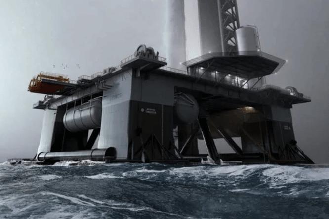 SpaceX готовится завершить первый плавучий космодром дляStarship в2022 году