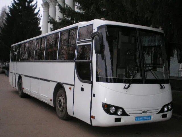 <br />МАРЗ-5277. Завод &laquo;Мичуринский автобус&raquo; (бывший Мичуринский авторемонтный завод) расположен в Тамбовской области и с 1995 года выпускает автобусы под собственным брендом.<br />&nbsp;