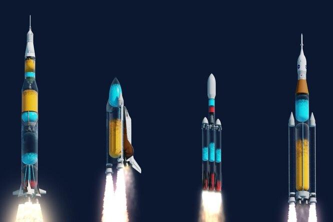 Если бы корпус ракеты был прозрачным: взгляд изнутри