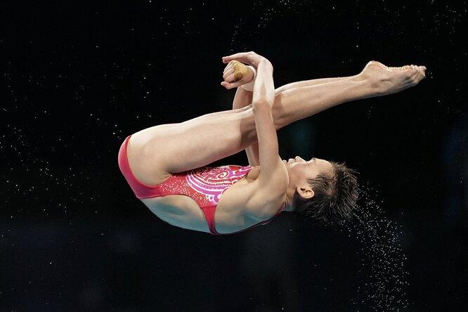 Олимпийской чемпионкой попрыжкам вводу стала 14-летняя китаянка