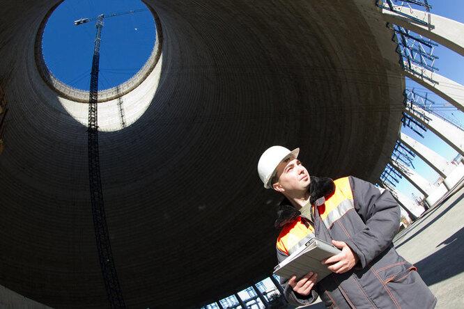Монтаж купола контейнмента на Ростовской АЭС