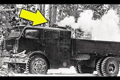 НАМИ-012: советский паромобиль надровяном ходу
