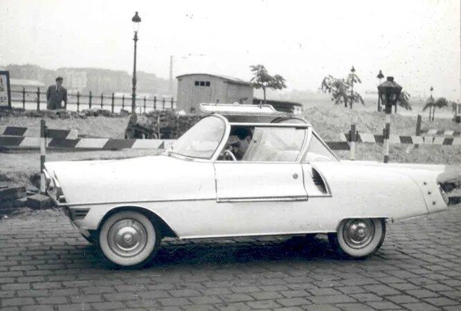 Напоследок – автомобиль Fesztivál дизайнера Калмана Шабади. Он построил эту симпатичную самоделку в 1960 году.