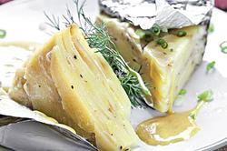 Картофельный пирог вконверте изфольги: рецепт дляленивого воскресенья