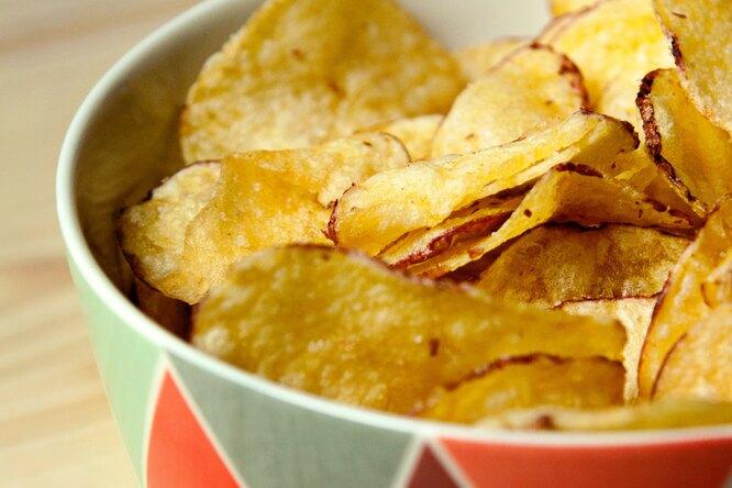 Какие чипсы можно есть безвреда дляздоровья?