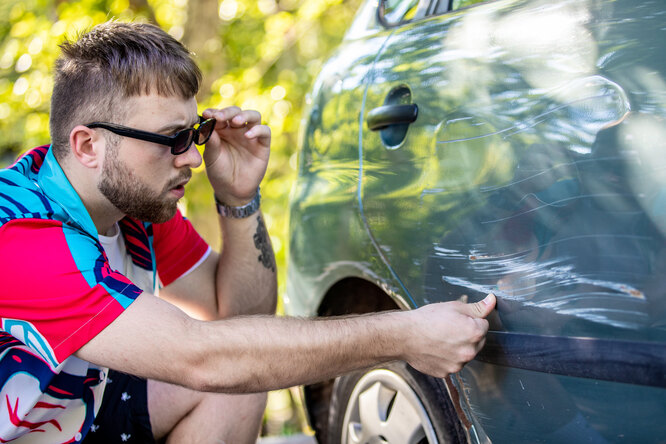 WD-40: простой способ избавиться отцарапин наавтомобиле