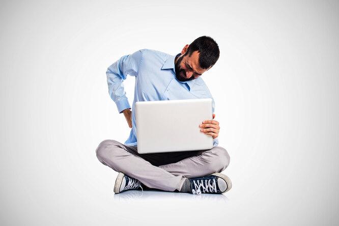 3 болезни, возникающие отсидячей работы: как сними справиться