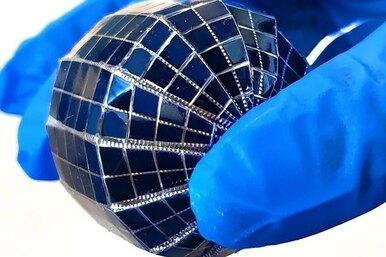 Солнечные панели вформе шара: удобно ипросто