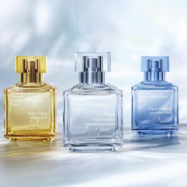 Французский парфюмерный дом Francis Kurkdjian выпустил новую коллекцию ароматов Cologne Forte