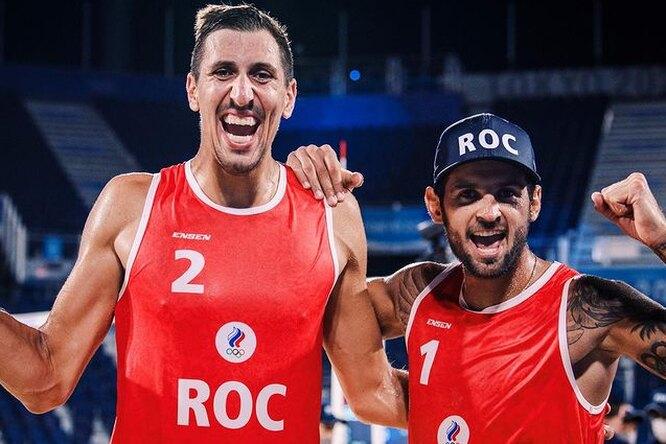 Российские спортсмены завоевали первую вистории медаль впляжном волейболе наОлимпиаде вТокио