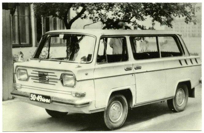 «Дружба» Николая Давыдова. Микроавтобус с двигателем от ВАЗ-2101.