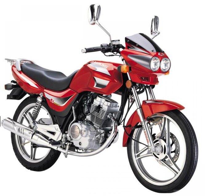 Dayun (Гуанчжоу). Средних размеров мотозавод, предлагающий порядка 40 моделей и модфицикаций мотоциклов и скутеров. На снимке – рядовая модель Dayun DY125-36A.
