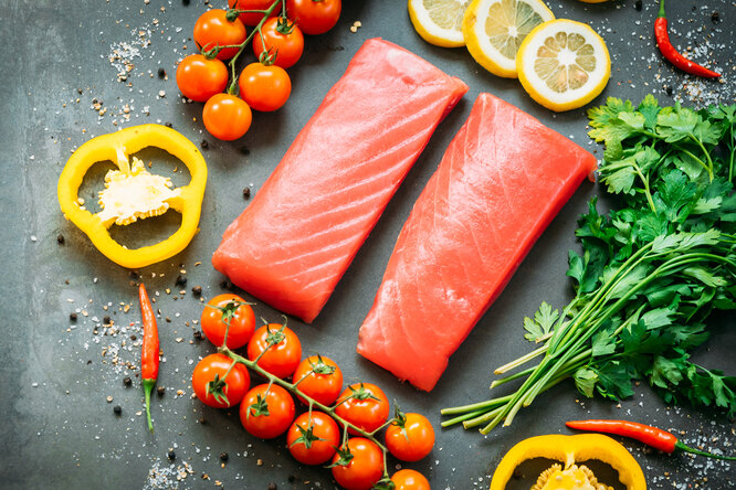 4 лучших белковых продукта, содержащих минимум калорий.